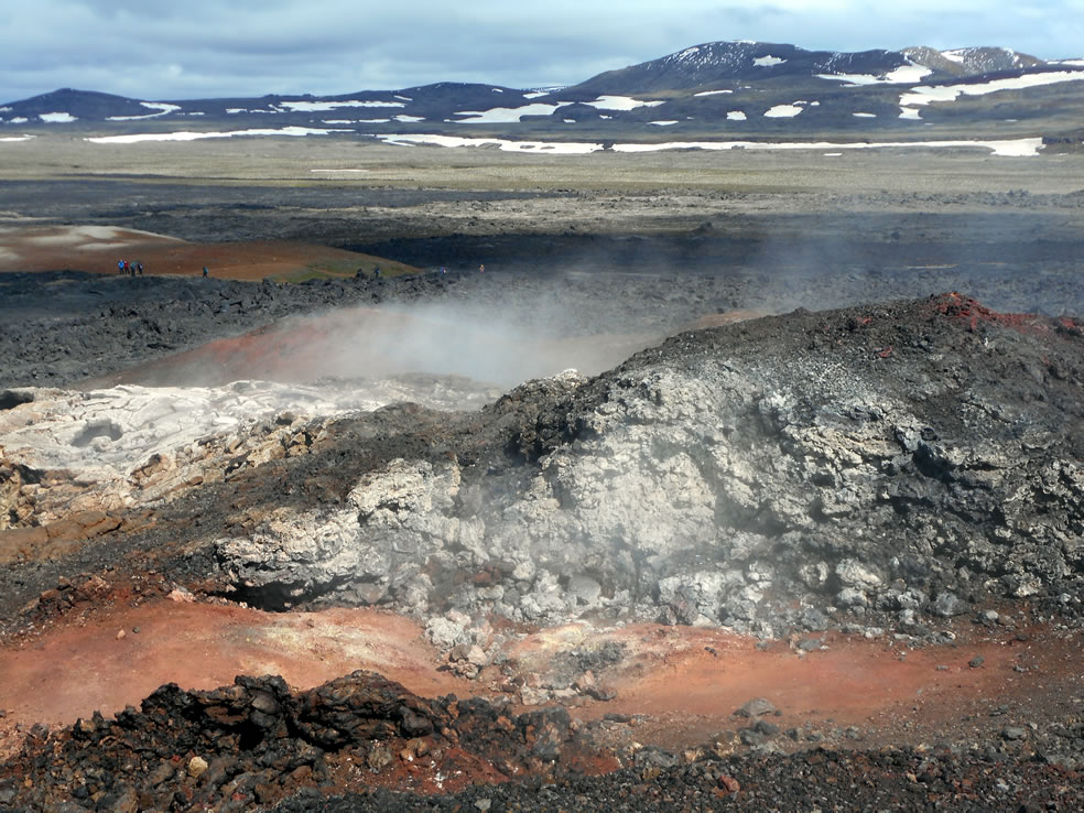 Lavaveld op IJsland